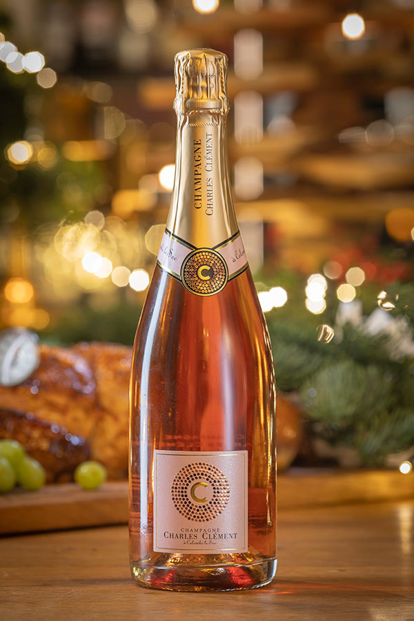 Charles Clement Rosé Champagne